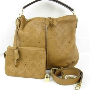Louis Vuitton Brown Mahina Selene PM Bag